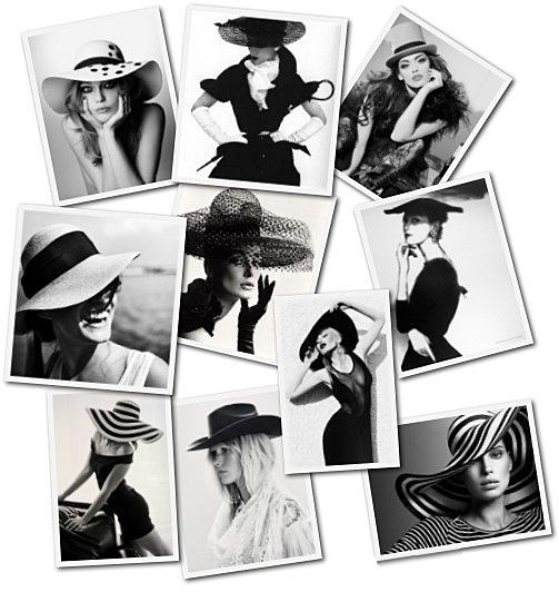 Friday Photo: Lara Schroeder - Black Hat Collage