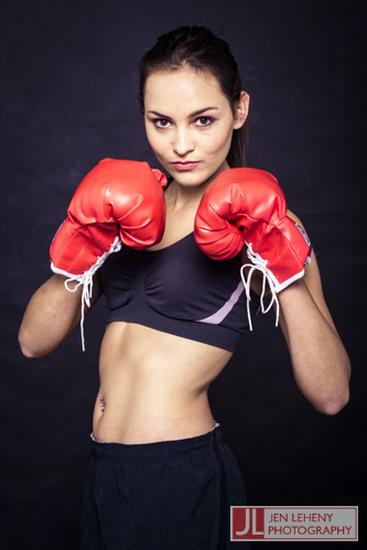 Charne Esterhuizen - Boxing Girl 1 - Jen Leheny Photography in Canberra