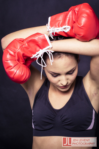 Charne Esterhuizen - Boxing Girl 3 - Jen Leheny Photography in Canberra