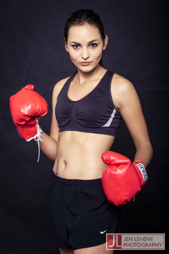 Charne Esterhuizen - Boxing Girl 6 - Jen Leheny Photography in Canberra