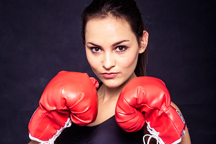 Charne Esterhuizen - Boxing Girl Featured - Jen Leheny Photography in Canberra