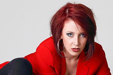 Eliza Shephard Red Jacket Featured - Jen Leheny Photography in Canberra