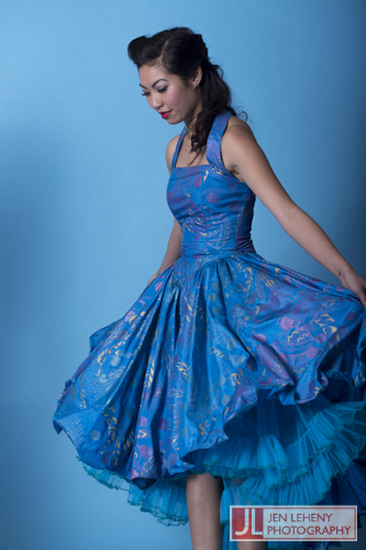 Fiona Lieu - Blue Vintage Dress