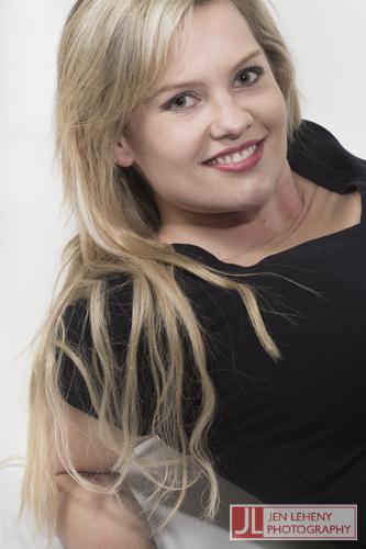 Kim Barden Black Tee 4 - Jen Leheny Photography in Canberra