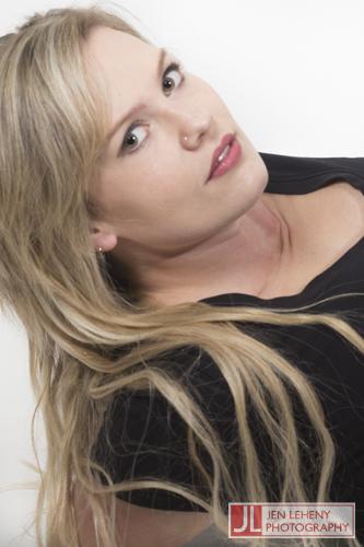 Kim Barden Black Tee 5 - Jen Leheny Photography in Canberra