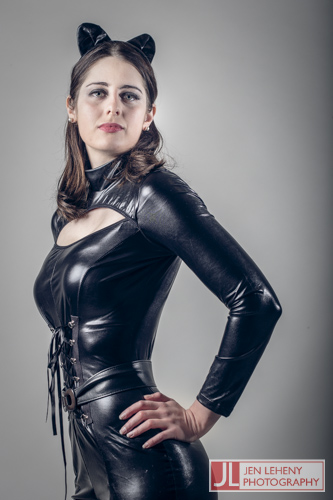 Mary Gray Catwoman 1 - Jen Leheny Photography in Canberra