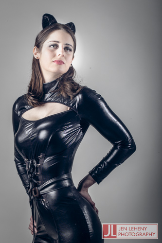 Mary Gray Catwoman 2 - Jen Leheny Photography in Canberra