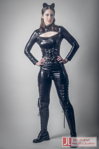 Mary Gray Catwoman 5 - Jen Leheny Photography in Canberra