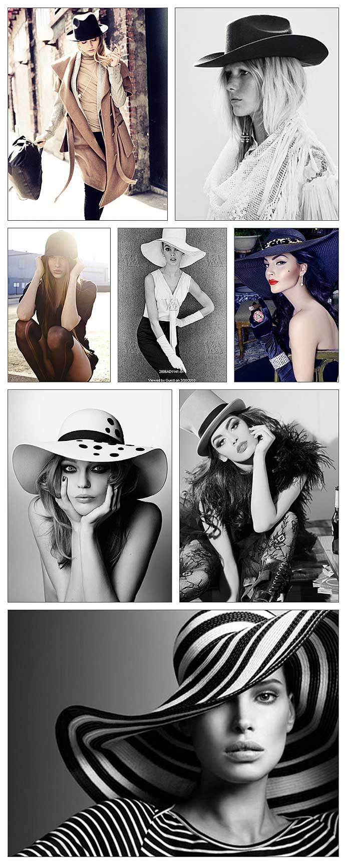 Photo Inspiration - Hats for Women