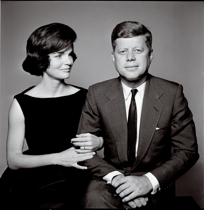 The Kennedys, JFK, John F Kennedy and Jackie O - Richard Avedon exhibition at National Portrait Gallery, Canberra